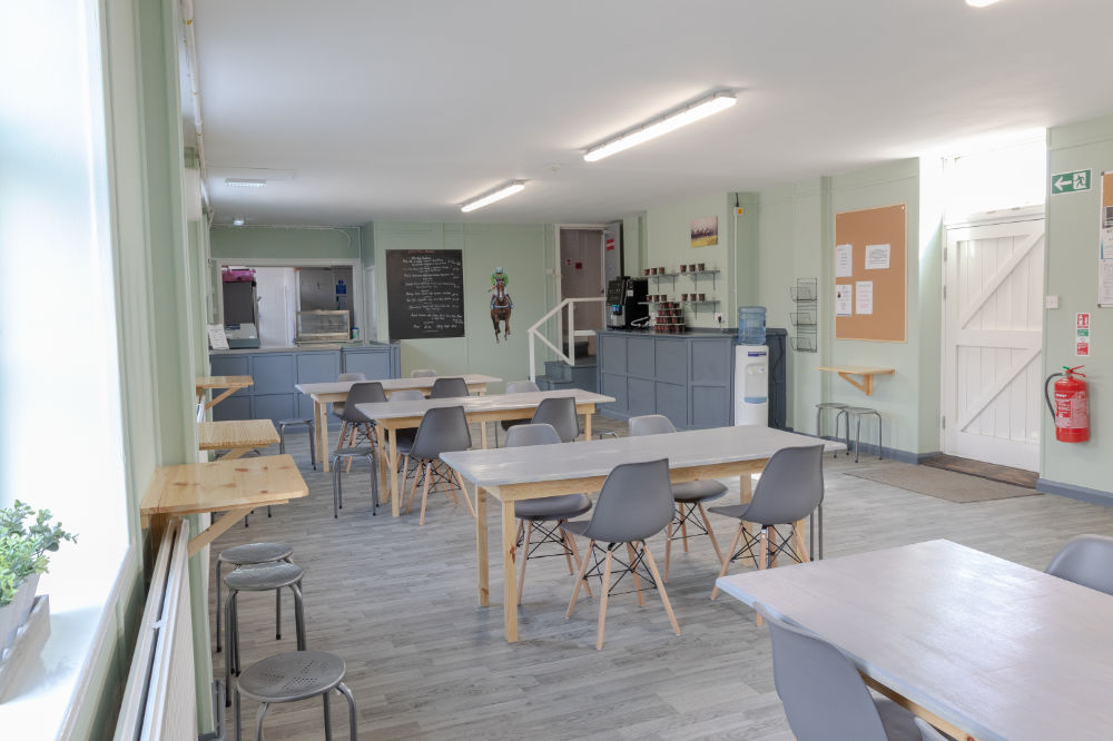 The Stable Yard Canteen, Lounge and Accommodation
